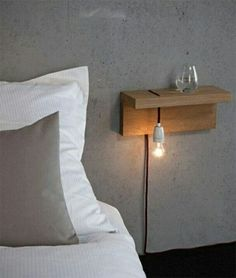 Floating Shelf Ideas - My List of Lists Minimalist bedside table. … Floating Shelf Ideas - My List of Lists Minimalist bedside table. …Floating Shelf Ideas - My List of Lists Minimalist bedside table.