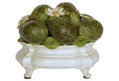 Italian Ceramic Avocado Topiary on OneKingsLane.com