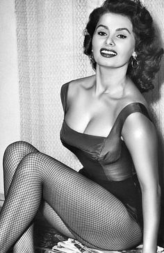 Sophia Loren - Just love her.  Such poise and confidence.