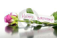 Wszystkiego najlepszego z okazji urodzin kwiat