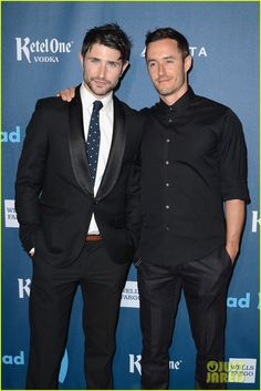 Matt Dallas & Blue Hamilton. Too much hot for one relationship. So unfair.