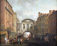 Temple Bar, by John Collett. 1770s