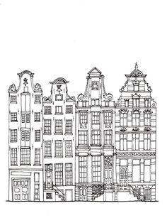 Ink drawing by Joseph Segaran