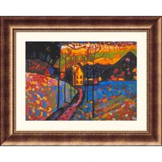 Great American Picture Untitled Bronze Framed Print - Wassily Kandinsky - 17900-Bronze