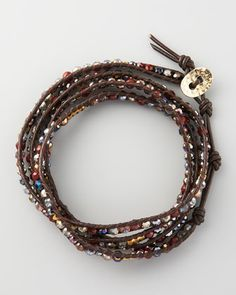 Beaded Wrap Bracelet (Stylist Pick!) at CUSP. This is a hand-picked gotta-get item. Just learned how to make!!!