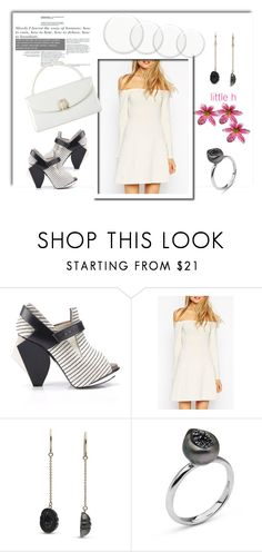 """""""Untitled #178"""" by april-lover ❤ liked on Polyvore featuring Abcense, Pearl & Black, Judith Leiber, women's clothing, women's fashion, women, female, woman, misses and juniors"""