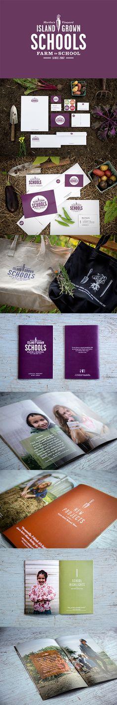 Great idea farm school #identity #packaging #branding PD