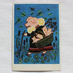Illustrator Y. Vasnetsov Vintage Soviet от RareBooksAndMore