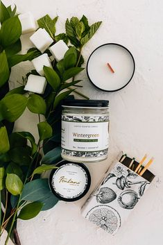 Strong minty aroma (so refreshing for Spring!) of pure wintergreen essential oil. This candle is made from 100% natural essential oils, steam distilled from the leaves of Gaultheria Procumbens that is sourced from Nepal.   We believe in using simple, natural ingredients of the highest quality. You will not find any petroleum byproducts, stabilizers, harmful dyes, or phthaltes in our wax or fragrances.