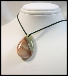 Incredible Designer Teardrop  Willow Creek Jasper Bead