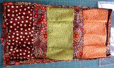 Travel organiser tutorial obvioulsy in much cuter fabrics