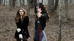 Day 11- favorite picture of Allison: Lydia is in this one too, but it's really an awesome picture of Allison I think. Showing off her bow and arrow skills, and her perfect curls, and season 1 Allison is my favorite Allison.