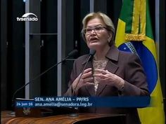Ana Amélia fala sobre o marido de Gleisi ,Paulo Bernardo https://youtu.be/QDsDoUSBC-g