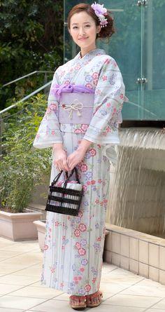 This yukata pattern is adorable! :D