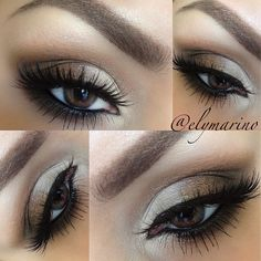 My makeup look for the past 2days! While I was on Vacation all my makeup was left behi... | Use Instagram online! Websta is the Best Instagram Web Viewer!