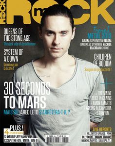 (1/6) French magazine cover.  My Rock,  June 2013.