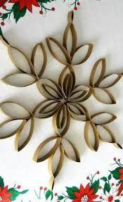 Resultado de imagen de corona de navidad con rollos de papel higienico