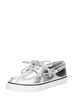 Sperry Metallic Silver dames bootschoenen