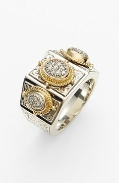 Konstantino 'Classics' Diamond Cocktail Ring available at #Nordstrom