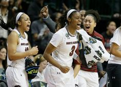 Photo              South Carolina's Kaela Davis, center, and Allisha Gray, left, during a semifinal win over Stanford on Friday. Gray led all scorers with 18 points.                                      Credit             LM Otero/Associated Press                      DALLAS — Allisha Gray...  http://usa.swengen.com/south-carolina-defeats-stanford-to-reach-its-first-title-game/