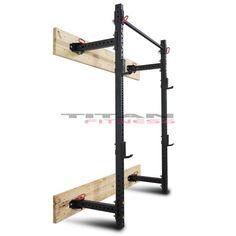 "for $269   21.5"" Deep Folding Wall Mount Rack"