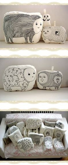 Almohadas decoradas