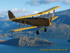 My father learned to fly in this aircraft - de Havilland DH82 Tiger Moth