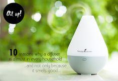 Oil up! 10 reasons why a diffuser is a must for every household 10 redenen waarom elk thuis een diffuser zou moeten hebben