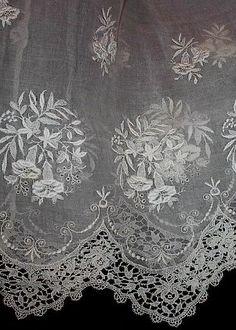 Antique dress lace