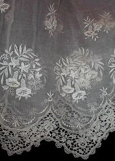 Antique dress lace