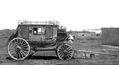 Old Royal Mail Coach, Standerton, Transvaal