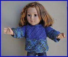 doll sweater, sweater patterns, palac yarn, american girl, ag doll, knit patterns