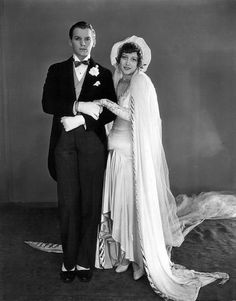 Douglas Fairbanks Jr. and Joan Crawford - 1929