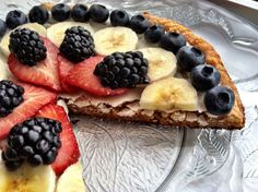 GRAIN FREE FRUIT PIZZA - My Coconut Kitchen