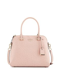 cedar street ostrich-print maise bag, posy pink by kate spade new york at Neiman Marcus.