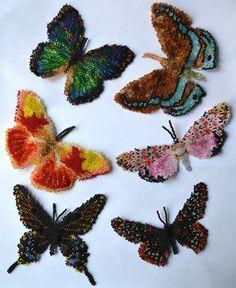 Instant download! Six North American Butterflies Pattern (eBook)