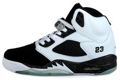 promo code b8fb8 82da6 New Authentic Air Jordan Retro 5 Oreo Black White-jordan shoes,nike shoes,