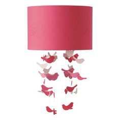 Birds child's ceiling light