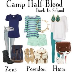 """Percy Jackson"" by totallytrue on Polyvore<---- ps i have zeus's boots. Not even joking, same.exact.ones."