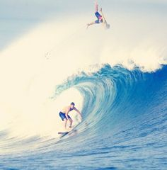 Surfing..that's me on top!:)