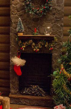 Kingyo dolls: Fireplace tutorial