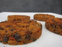 Burger aux haricots noirs vegan vegetalien