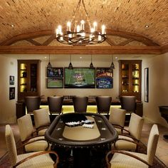 Poker Tables Design Ideas, Pictures, Remodel, and Decor
