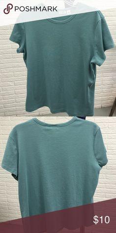 Selling this Cato knit tee, XL seafoam green in my Poshmark closet! My username is: lsmouz. #shopmycloset #poshmark #fashion #shopping #style #forsale #Cato #Tops