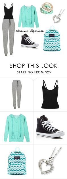"""Alyssa's School Outfit {Set 1}"" by the-mentxlly-insxne on Polyvore featuring Icebreaker, Converse and JanSport"