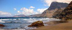 Spain, Canarias, Gran Canaria, Artenara, Playa de La Virgen