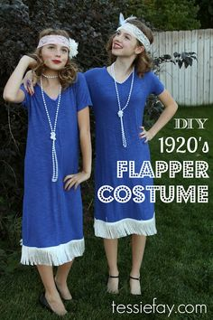 DIY Flapper Costume link doesn't work but looks like a cute and easy idea