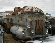 Just needs a cowkiller from a train on the front, and some machine gun ports, and we're golden.