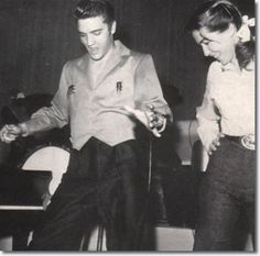 Elvis Presley with Judy Spreckels