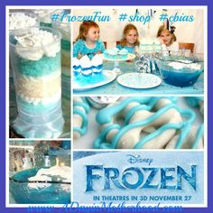 diy Frozen Birthday Cake | Get your FROZEN Party Ideas with Merchandise from Walmart #FROZENFun # ...
